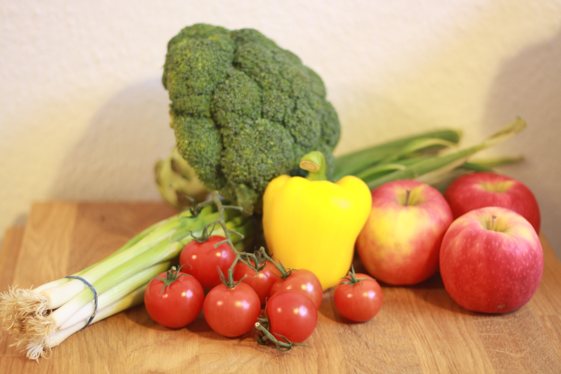 Gemüse at home